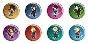 Final Fantasy VIII Buttons by Maxx-V