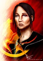 Katniss Everdeen by bon2410
