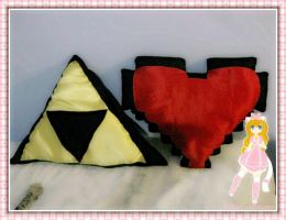 zelda pillows by Denisse-meow