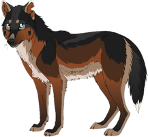 Wolf Adopt - CLOSED (cheap) by SwarThylacine-Adopts