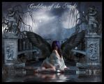 Goddess of the Night by silentfuneral