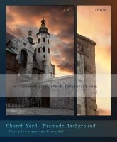 Church Yard Premade by kuschelirmel-stock