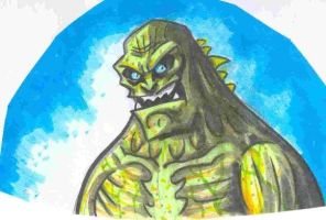 Abomination Marker Doodle by JollyGorilla
