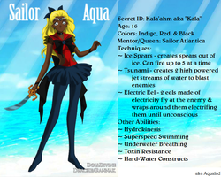 +Young Justice Scouts+ Sailor Aqua(Aqualad) by phoenixtsukino