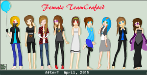 Re-drawn Female TC by DemonMiner