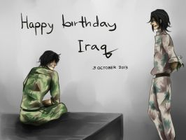 APH : HBD Iraq by gemmingi