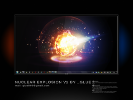 Nuclear explosion v2 by glue-poland