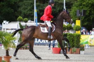3DE Show Jumping Phase Stock 166 by LuDa-Stock