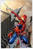 Spiderman by Mike-Montalvo