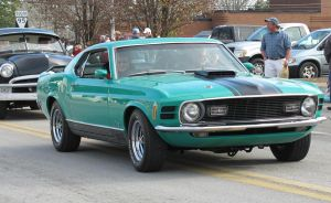 Mach 1 Mustang - Greenback by CrystalMarineGallery