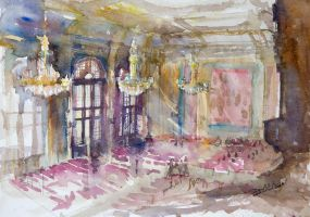Interior of the Artus Court by NiceMinD