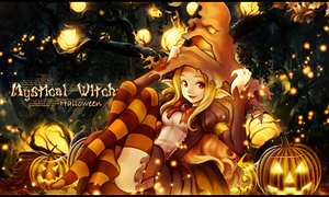 Halloween Witch Sig by Pradyrk