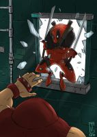 Deadpool Surprise by cjcenteno