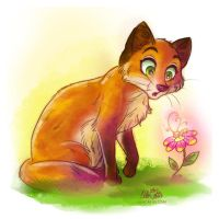 Red Fox by LilaCattis