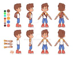 Leo A-Frame Model Sheet by LeosForest
