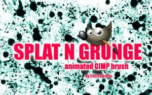 Splat n Grunge Brush by Chrisdesign