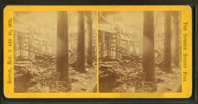 Unidentified view of ruins from the Summer Street  by yellowishhaze