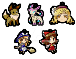 Various Charm Designs by EnchantedDumplings
