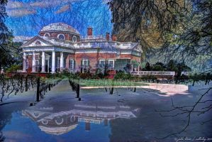 Winter Monticello by NullCoding