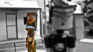 DxC - You broke my heart - Total Drama Papercrafts by ViluVector