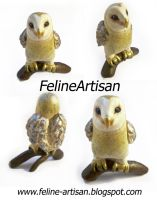 Owl figure Commission by FelineArtisan