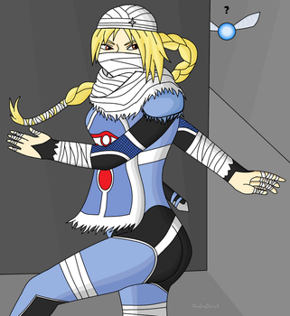 Sheik by ShadowFlare78