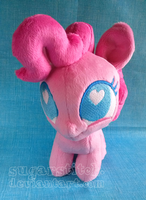 MLP FiM: Pinkie Pie Ponydoll by sugarstitch
