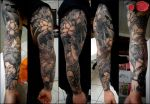 japanese sleeve tat by loop1974