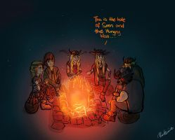 Campfire Stories by vic2ria