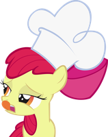 Chef Applebloom by FabulousPony