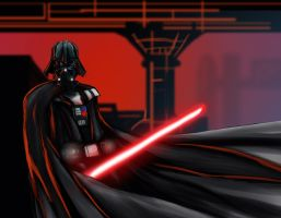 Darth vader by LaRhsReBirTh