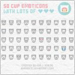 Emoticons: Cups by apparate