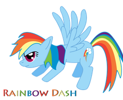 MLP FiM Rainbow Dash 4-18-12 by JamesCranmer