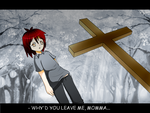 Crying Over A Mother's Grave by Varsha-Trever