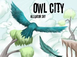 owl city alligator sky by G0sT-W0lF