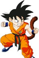 Young Goku Color by RuokDbz98