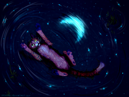 Among the stars by PondisDant