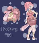 Lickitung Gijinka by FlavorlessMuffin