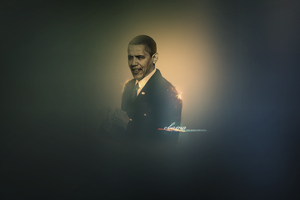 Obama - Wallpaper V1 by lebthug23