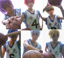 Teiko Basketball Club by gokulover3