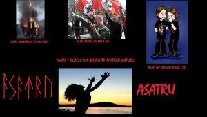Asatru - what society thinks about by somniumsanguinis