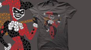 Harlequinade t-shirt design by Nox-dl