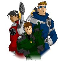 The Blast Brothers by kevinbriones