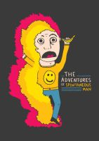 Adventures of Spontaneous Man by LetsMakeArt
