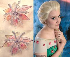 Frozen Fever Elsa Flower by PirateKiki