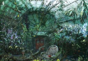 Mysterious Signs- greenhouse by DartGarry