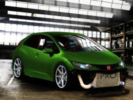 Honda Civic V-TEC by Martinstojcev