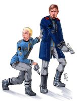 Commission: Armin and Dussander by Shestval