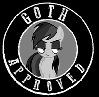 Goth Approved by bronybyexception