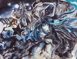 Black Rock Shooter Preview Ver by NuclearCoreMeltdown